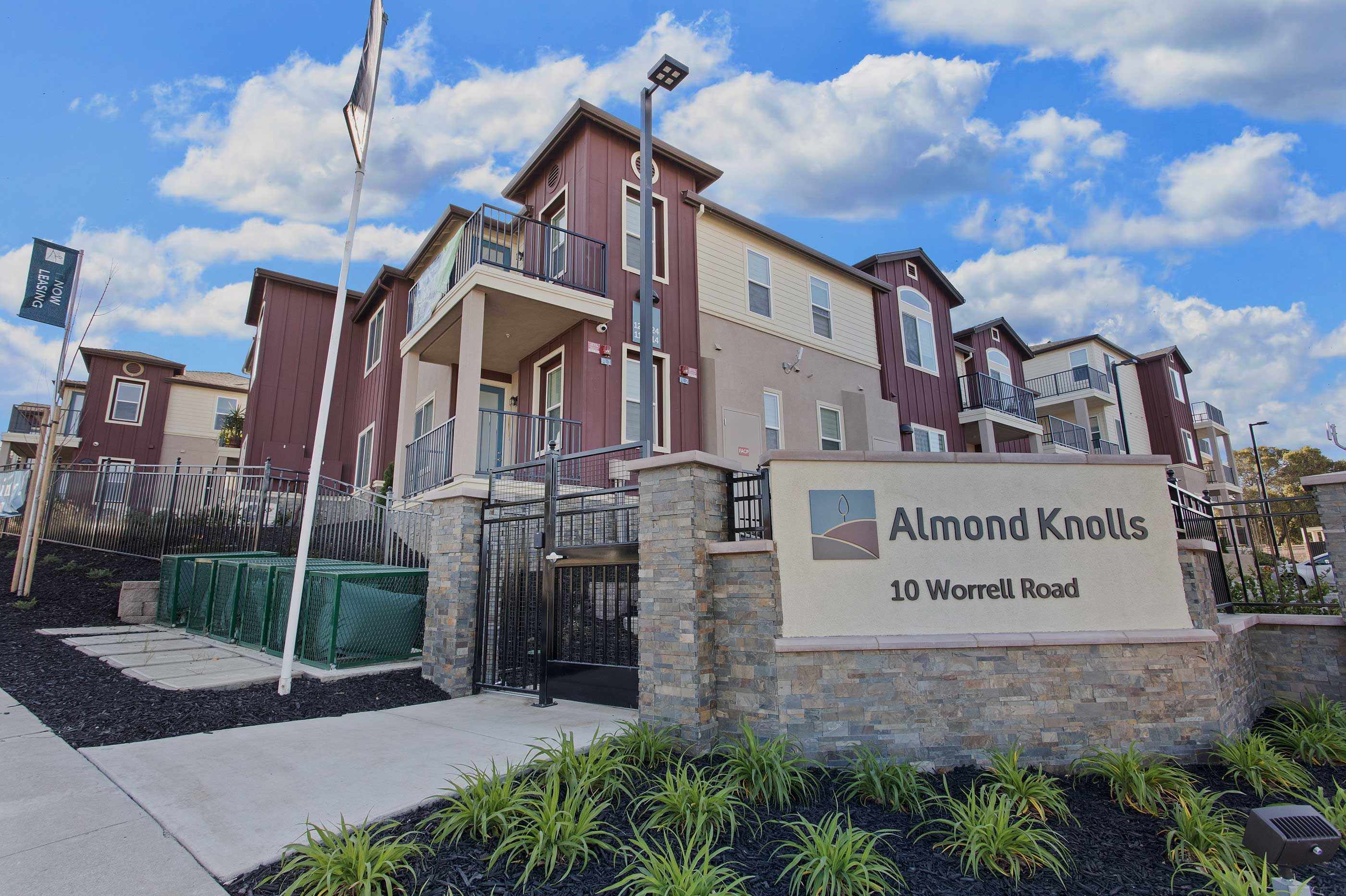 Almond Knolls Almost Leased Out